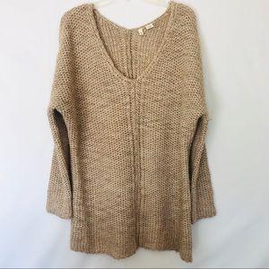 Anthropologie Moth Alpaca Blend Oversized Sweater